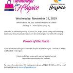 Handbags for Hospice – Wednesday, November 13, 2019